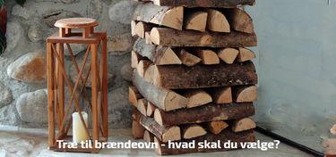 træ til brændeovn