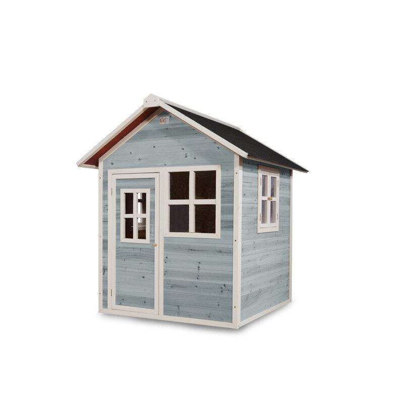 Exit Loft 100 legehus 140,5x149x160 cm blå
