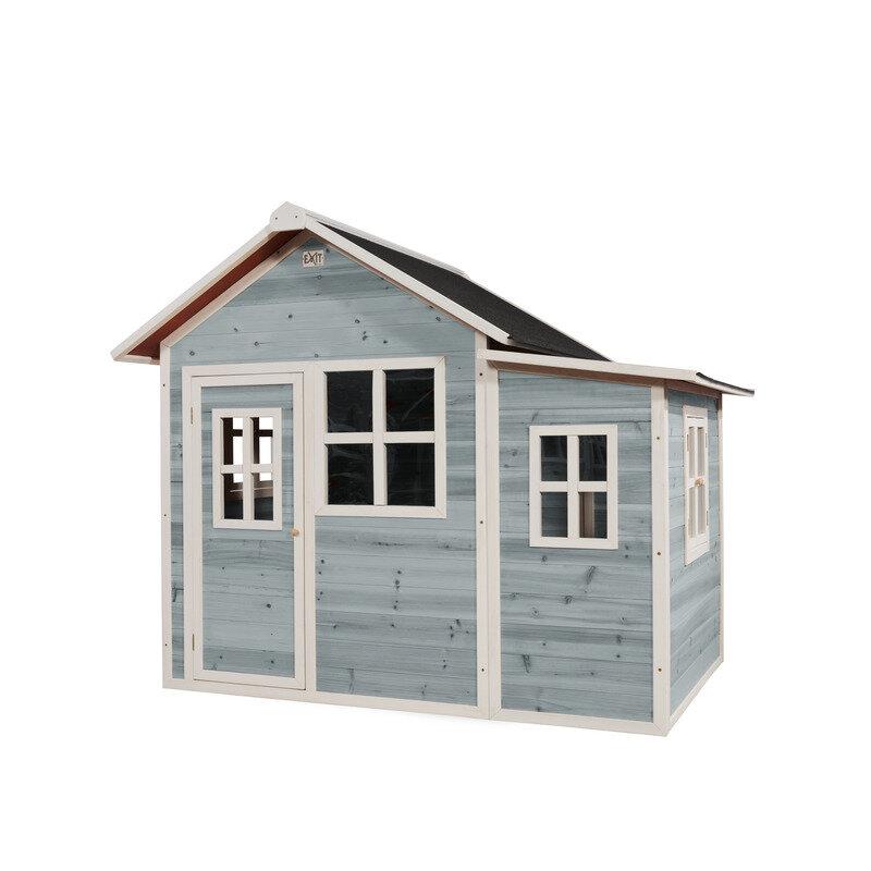 Exit Loft 150 legehus -149x191x160 cm blå