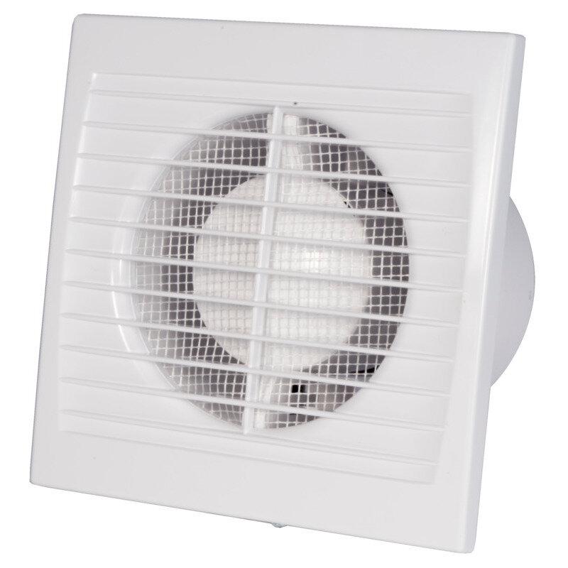 Duka ventilator EL 600 TH fugt og tidsstyret Ø100 mm.