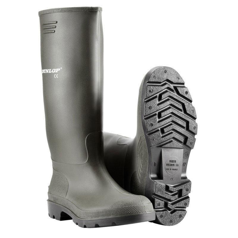 Dunlop PVC gummistøvle str. 35 - sort