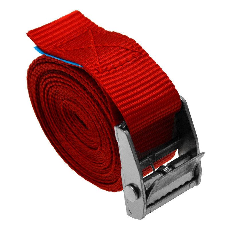 Staco lastestrop 25mmx3m Rød
