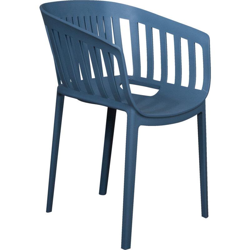 Gudenå havestol, blå