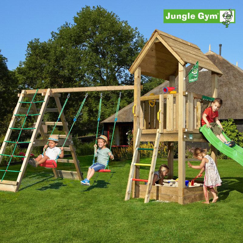 Jungle Gym Club legetårn m/climbmodul
