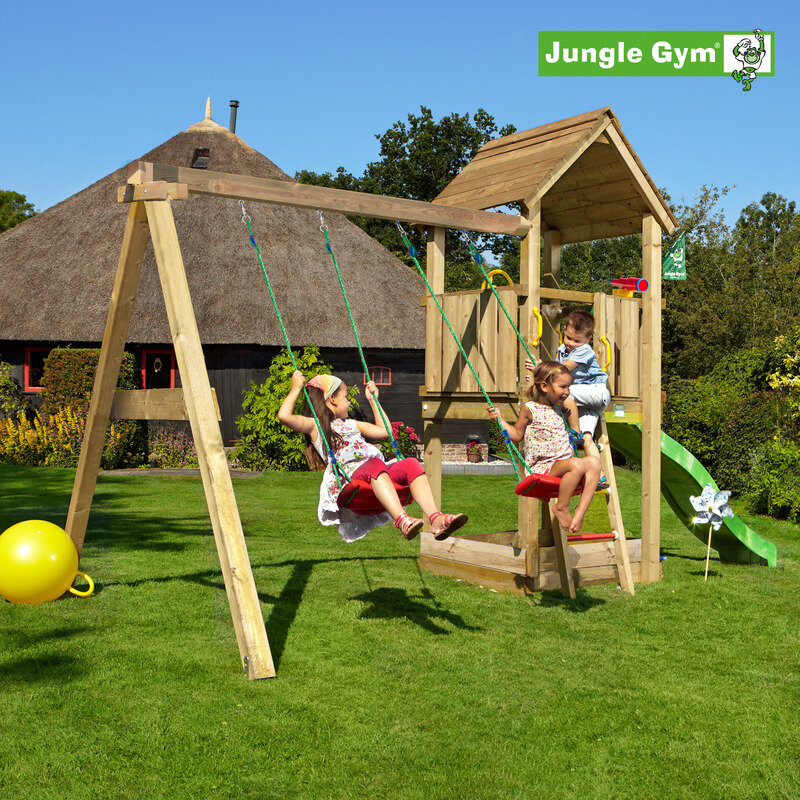 Jungle Gym Club legetårn m/swingmodul