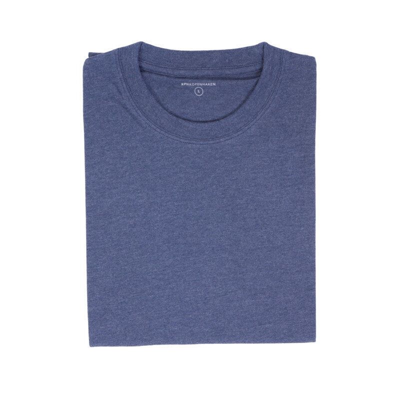 KPH Goss t-shirt str. S denim melange