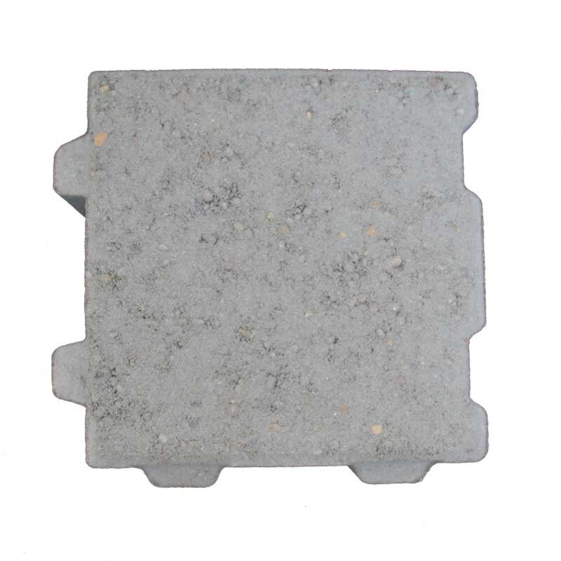 Miljøsten 21x21x9 cm grå