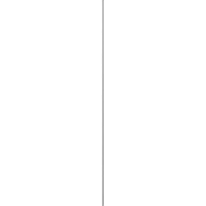 Scanbad Match vægprofil/anslagsliste satin til model A,B,C, smal