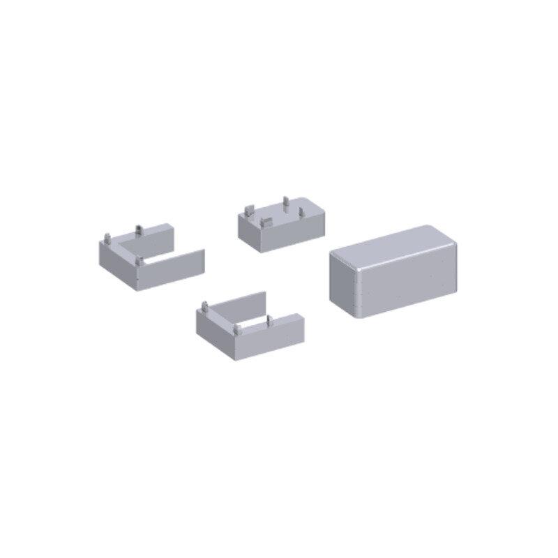 Scanbad Match afstandsstykker 2x6 mm dør/fast væg krom