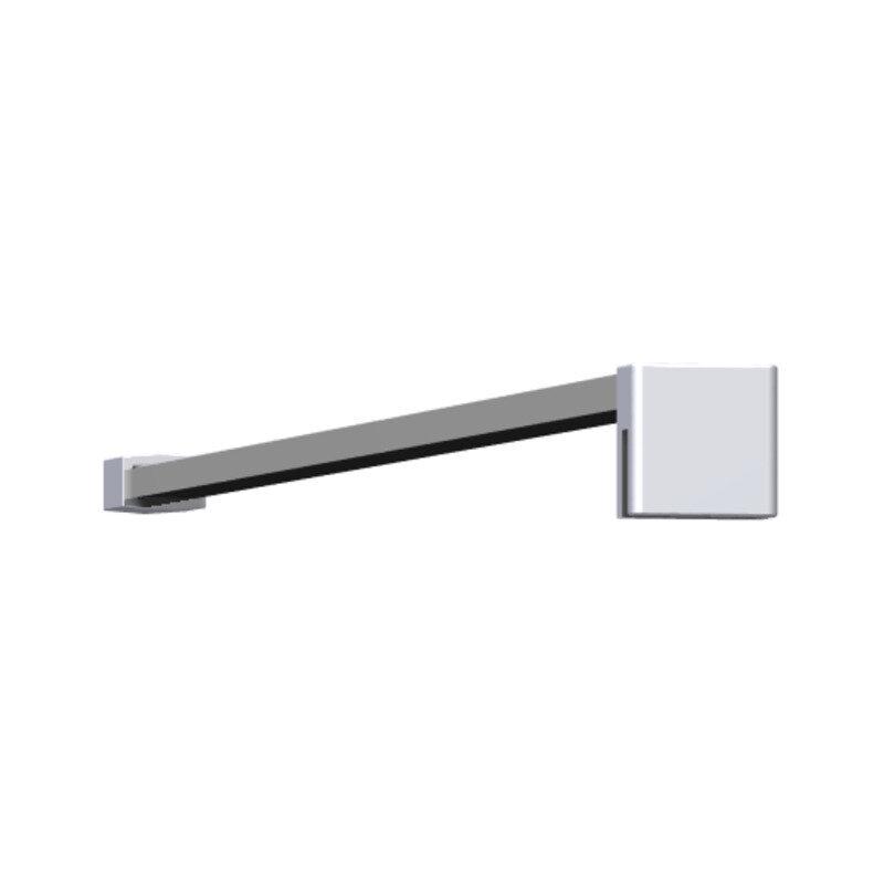 Scanbad stabiliseringsstang 120 cm t/Match D (fast væg)