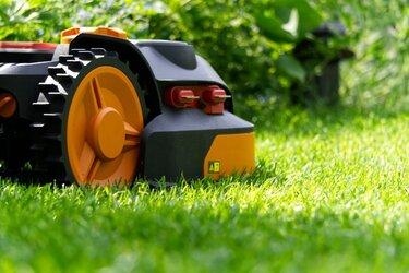 orange robotplæneklipper