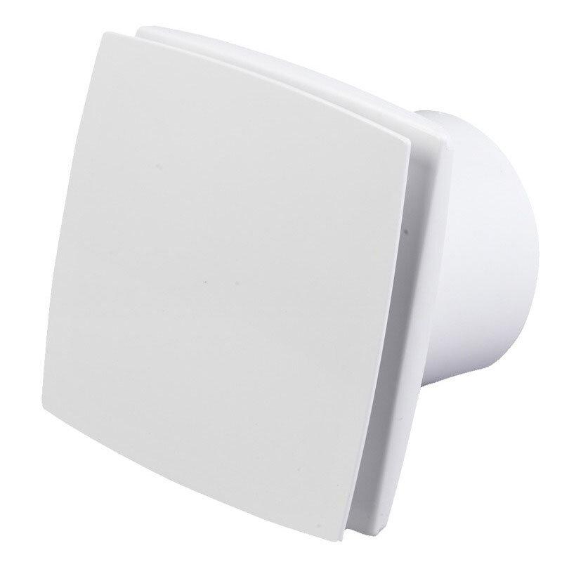 Duka ventilator EL 700Q uden styring - hvid - Ø100 mm