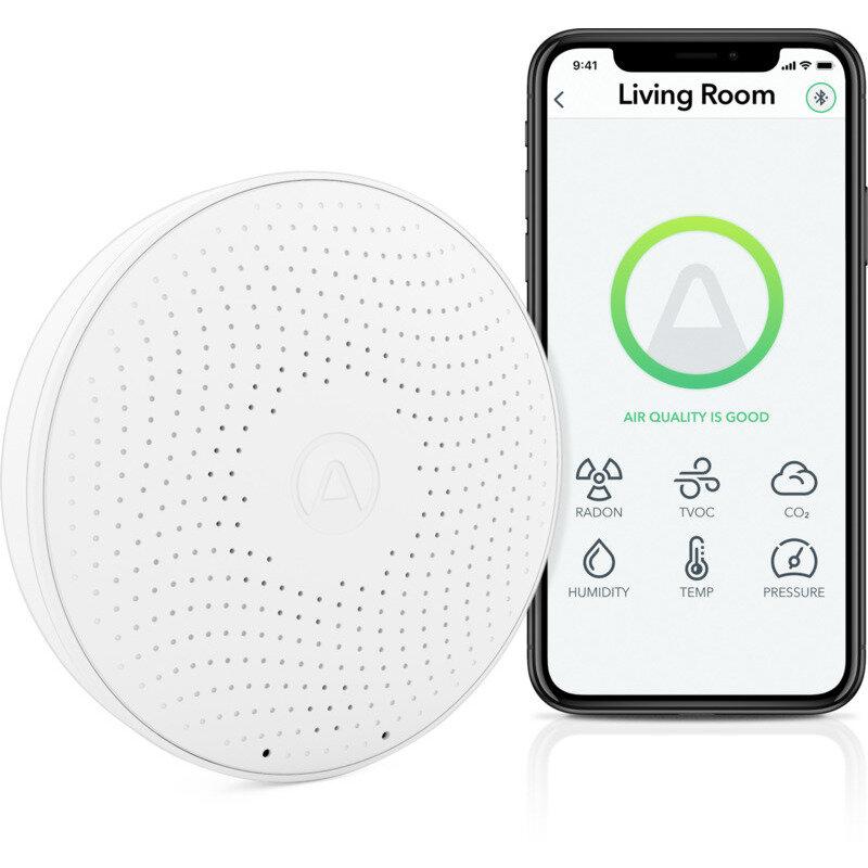 Airthings Wave Plus luftkvalitets- og radonmåler