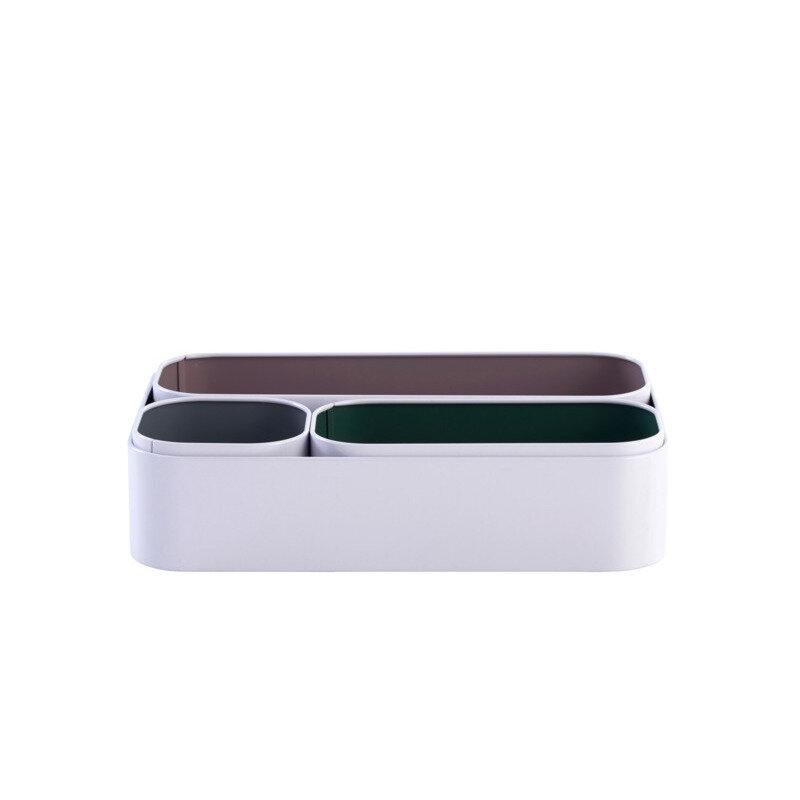 Opbevaringskasser 4 stk hvid