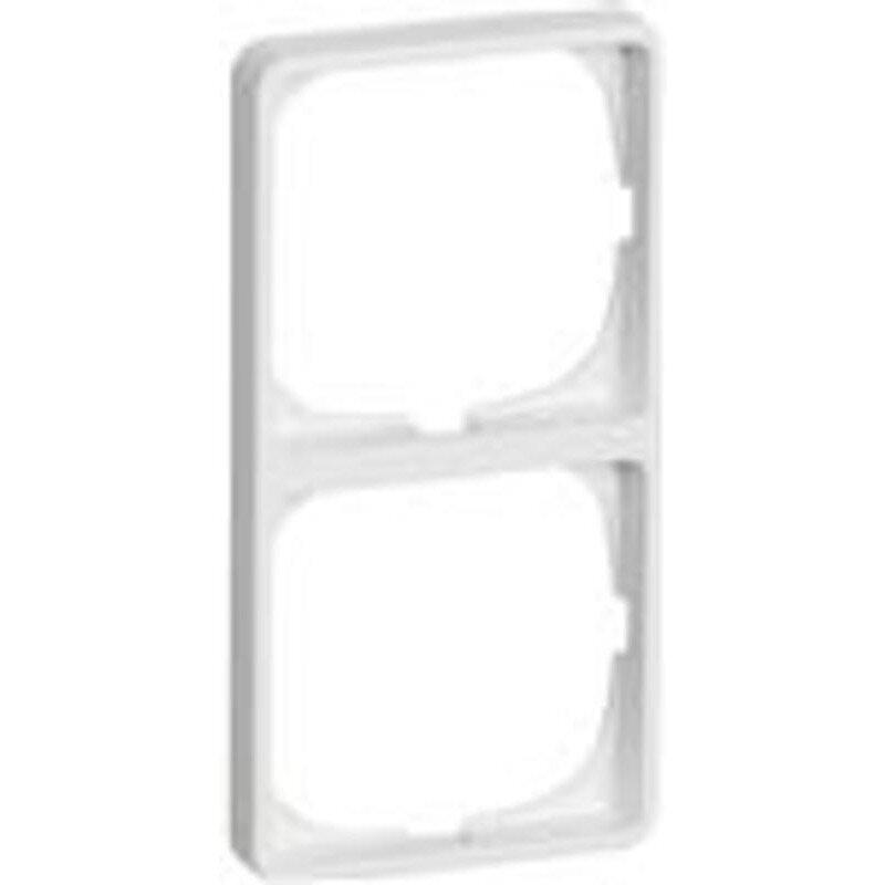 LK Fuga baseline 50 ramme 2x1 modul hvid