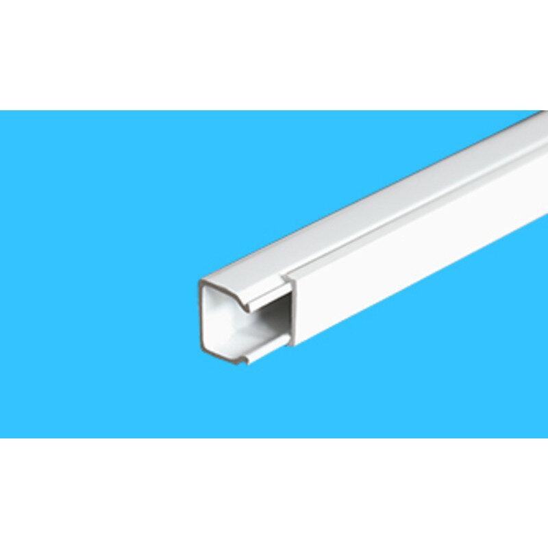 E-Line minikanel 17x15 mm x 2 m hvid