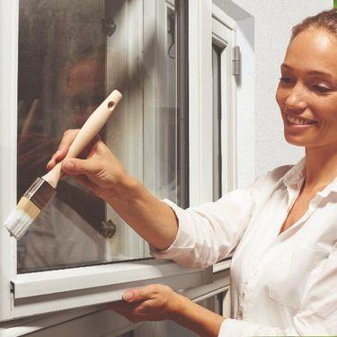 Sådan maler du dine vinduer