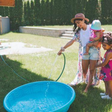 hvad koster det at fylde et badebassin med vand