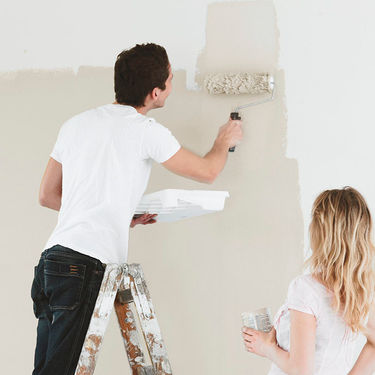 Male væggen
