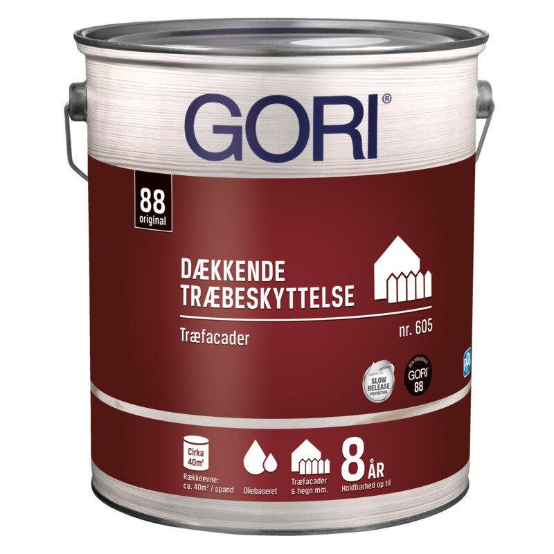 GORI 605 dækkende træbeskyttelse 0,75 L