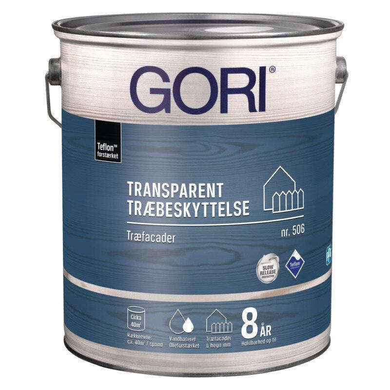 GORI 506 transparent træbeskyttelse 0,75 L