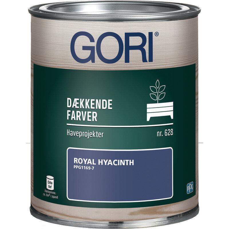 GORI 628 dækkende træbeskyttelse haveprojekter royal hyacinth 0,75 L