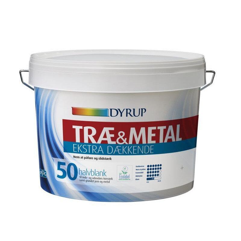 Dyrup træ og metal ekstra dækkende 50 0,38 L