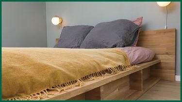 nybyggerne grønt hus soveværelse