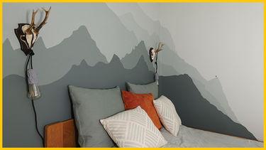 nybyggerne gult hus soveværelse