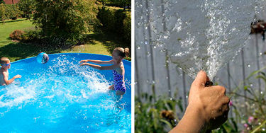 Badebassin med vand