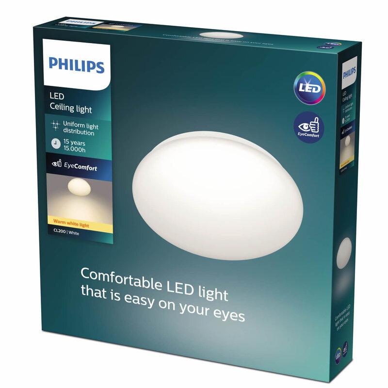 Philips Moire plafond 17W hvid