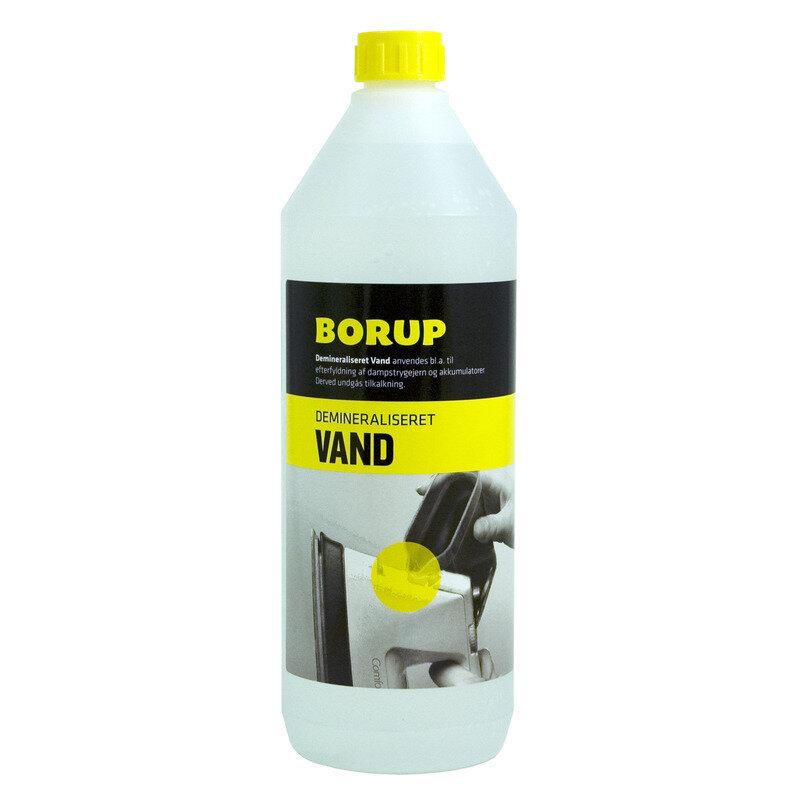 Borup demineraliseret vand 1 L