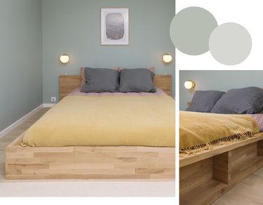 seng af egetræsbordplader fra wallmann