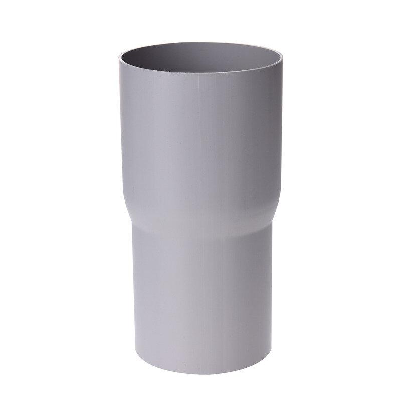 Plastmo rørsamlemuffe grå - 75 mm