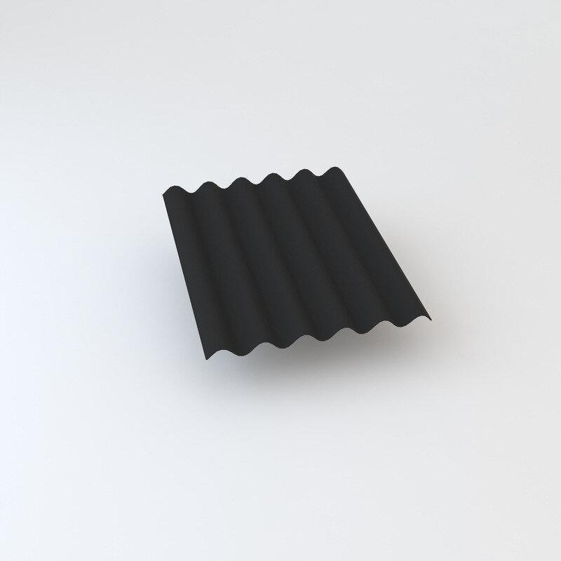 Cembrit bølgeplade B9-S FK mørkegrå 1025 x 1180 mm