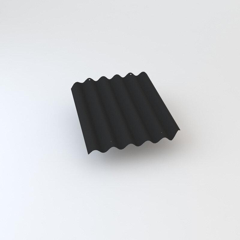 Cembrit bølgeplade B9-S HJ/HU mørkegrå 1025 x 1180 mm