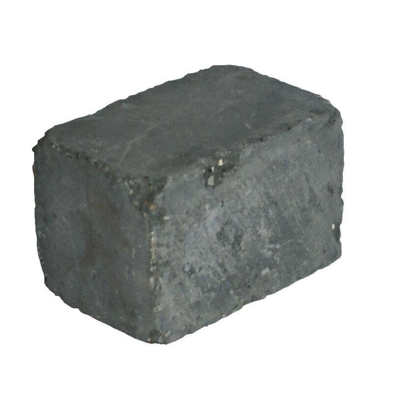IBF Holmegaardsten kantblok m. lige kant, 14x21x14 cm, antracit