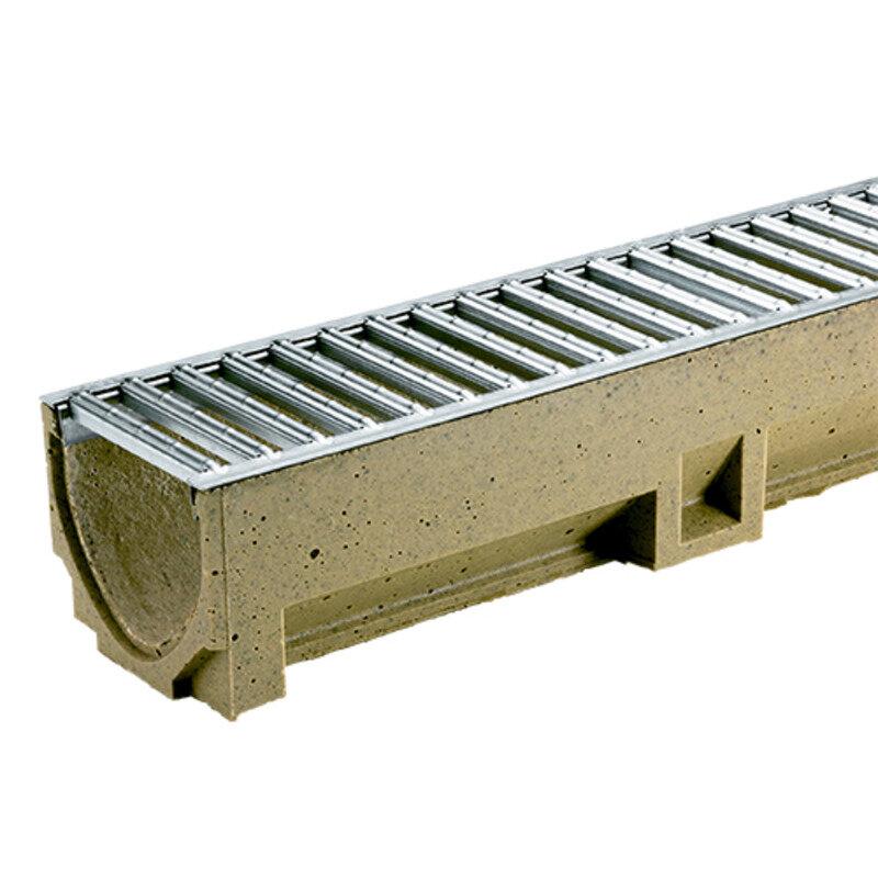 Plastmo EuroLine m/galvaniseret rist 1000 mm