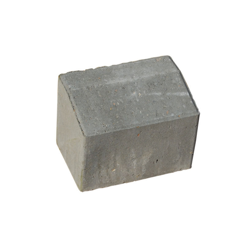 Multikant standard TP 15/21 grå med skå forkant - 14x21x15,5 cm