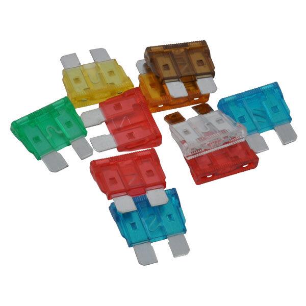 Fladsikringer i pakke med 10 stk. standard