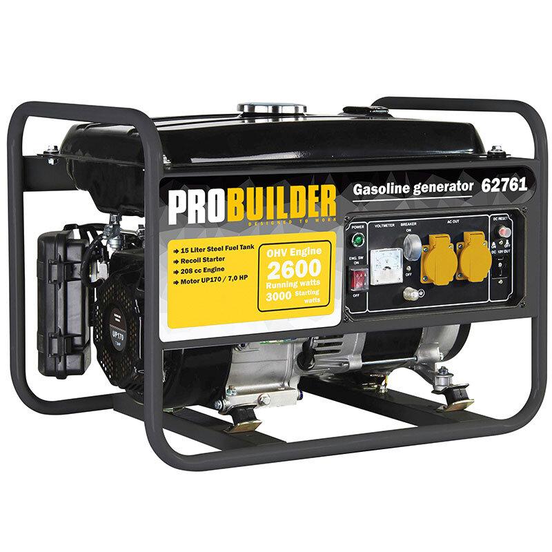 Probuilder generator 3000 Watt 208CC