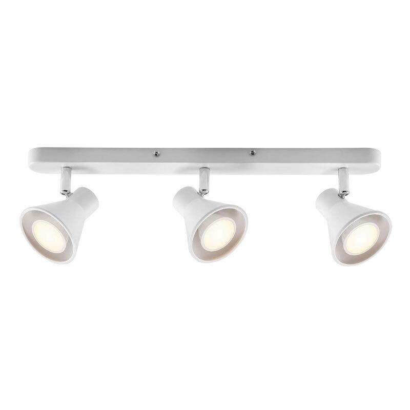Nordlux EIK 3-spotlampe hvid