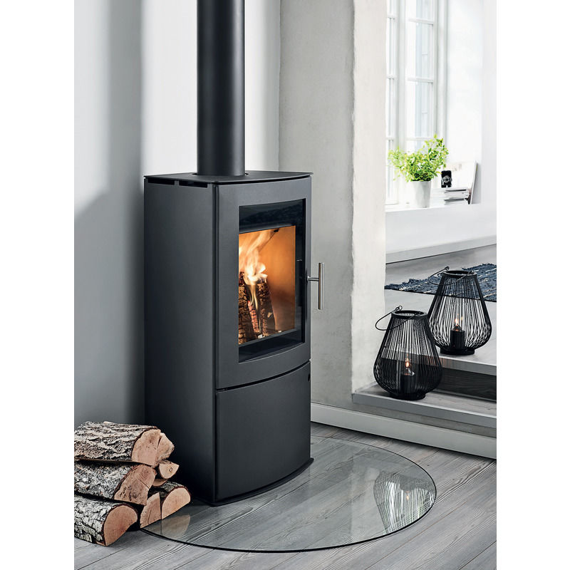 Westfire Uniq 46 brændeovn sort