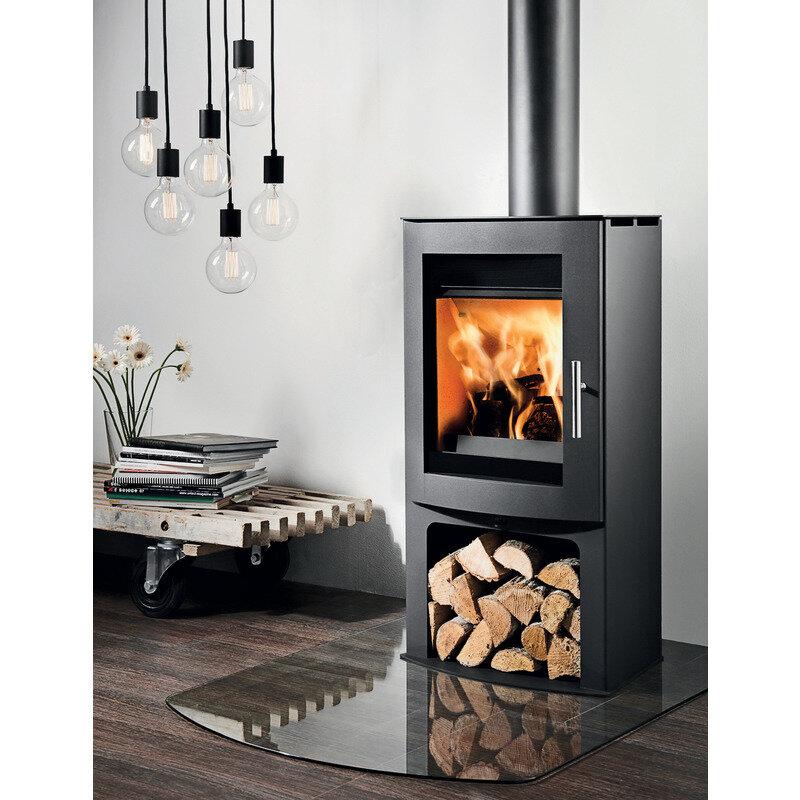 Westfire Uniq 45 brændeovn sort
