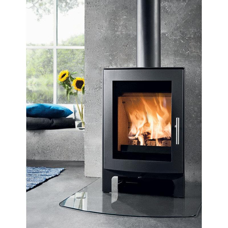 Westfire Uniq 44 brændeovn sort
