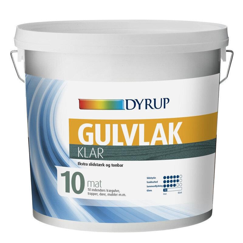 Dyrup gulvlak klar 10 0,75 L
