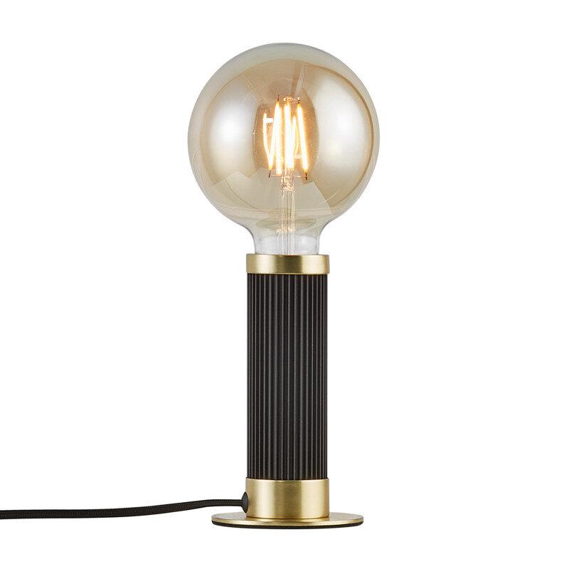 Nordlux Galloway bordlampe E27 sort