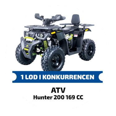 ATV hunter 200 169CC