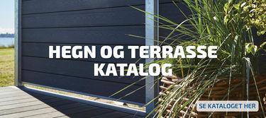 Hegn og terrasse katalog